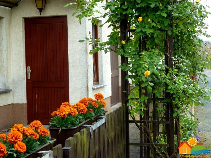 Außenansicht: Eingang zur Ferienwohnung